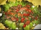 Tomaten Möhren salat