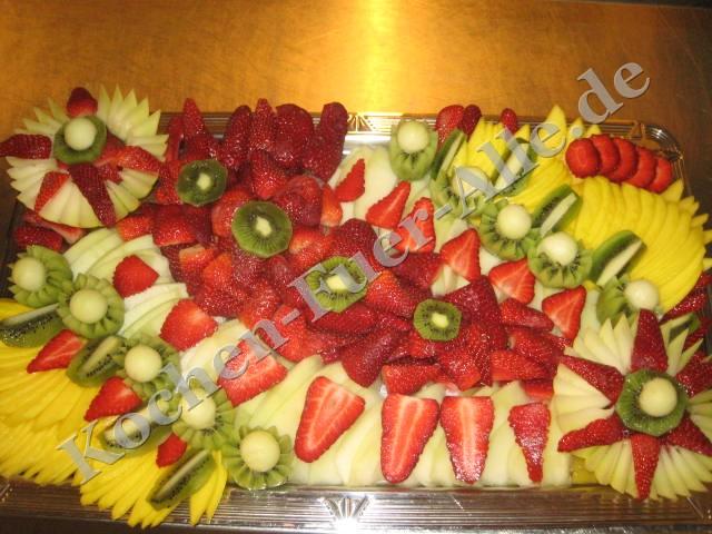 Kalte Obstplatte «Honig Melone Stern» (mit Fotos) | Kochen ...