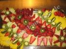 Kalte Obstplatte «Honig Melone Stern» (mit Fotos)