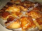 Blätterteigtaschen mit Äpfeln