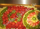 Obst Platte Melonenkugel