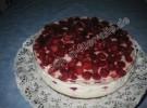 Himbeere-Quark Torte