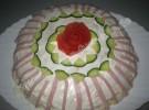 Hackfleisch  Pfannkuchen Torte